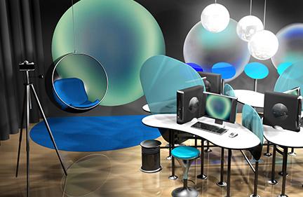 X-Rite Brand Experience Room